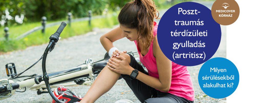 posztraumás artrózis tünetei és kezelése