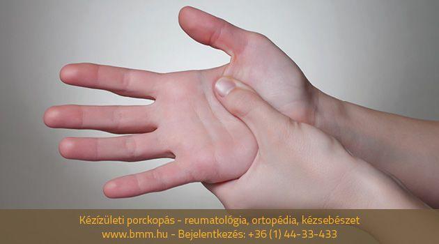 hogyan kezeljük a kézízületek fájdalmát