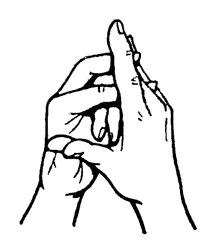 a kéz ízülete fáj a kis ujját és a névtelen)