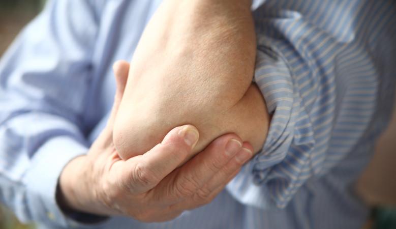 ízületi fájdalom a könyöknél edzés után fájdalom a csípőízületekben mi ez