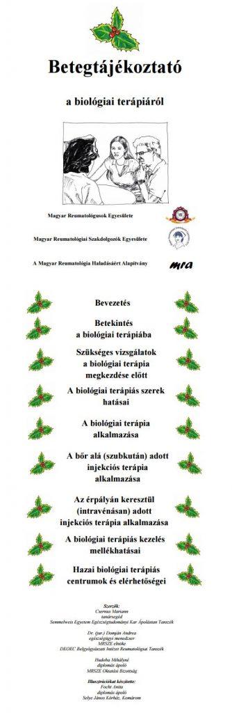 ízületek biológiai kezelése)