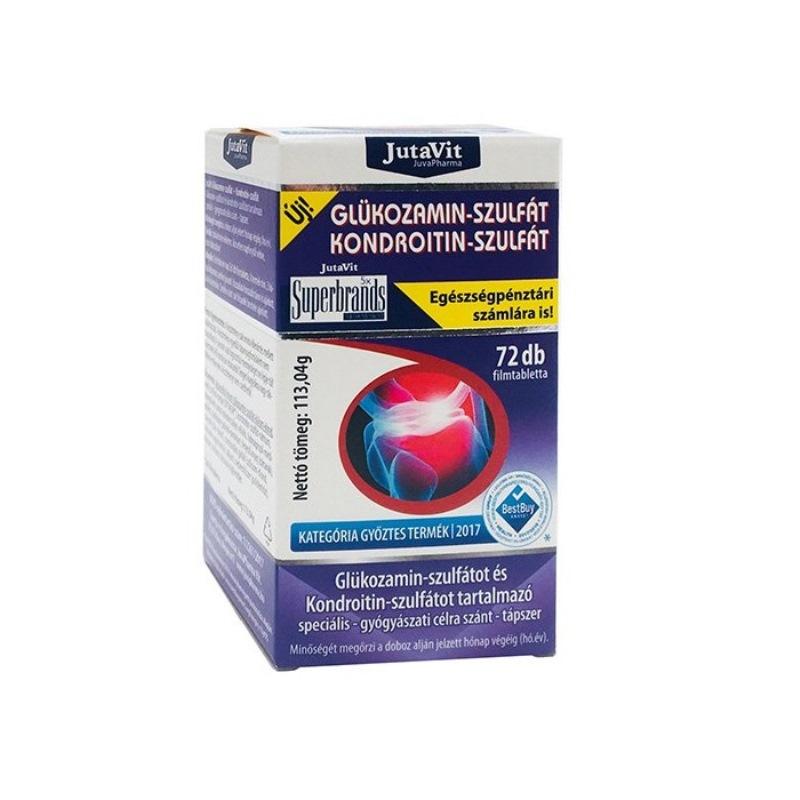 kondroitin és glükózamin, amely tartalmaz