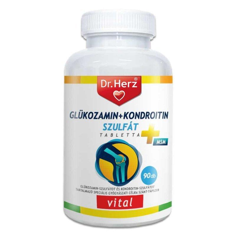 kondroitin és glükozamin készítmények)