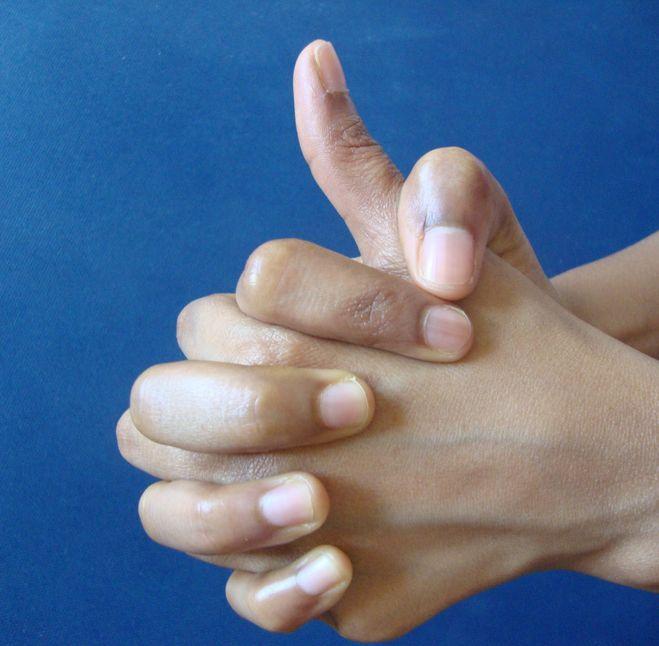 az ujjak falának reumás ízületi gyulladása