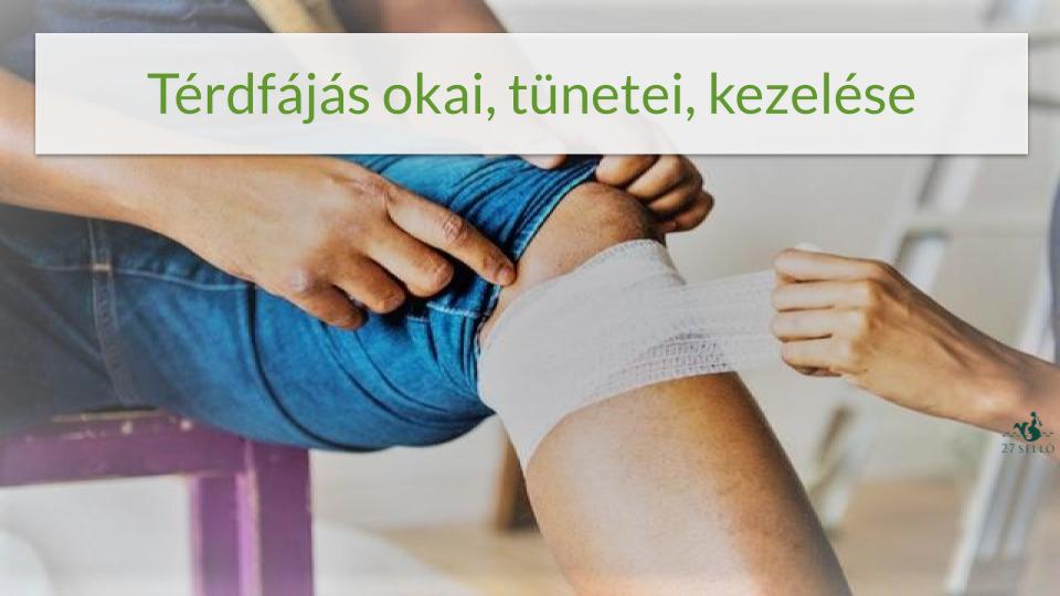 fájdalom a térdben és az alsó lábban)