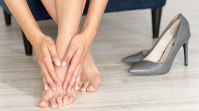 hogyan lehet enyhíteni a lábfej ízületét