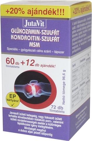BENU Glükozamin kondroitin kapszula | BENU Gyógyszertárak