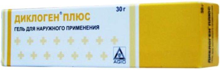 diklogen gél az oszteokondrozishoz