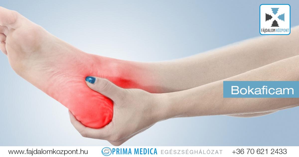 a lábak ízületeinek ínszalagok és inak gyulladása)