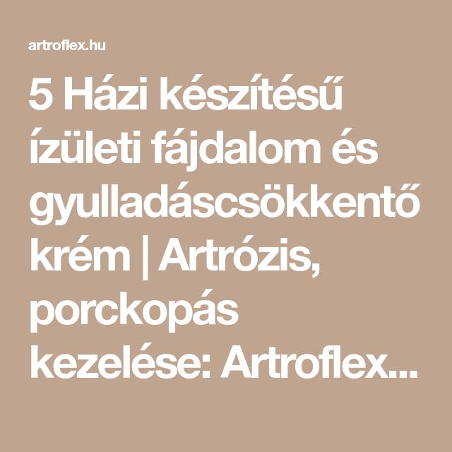artrózis kezelése)
