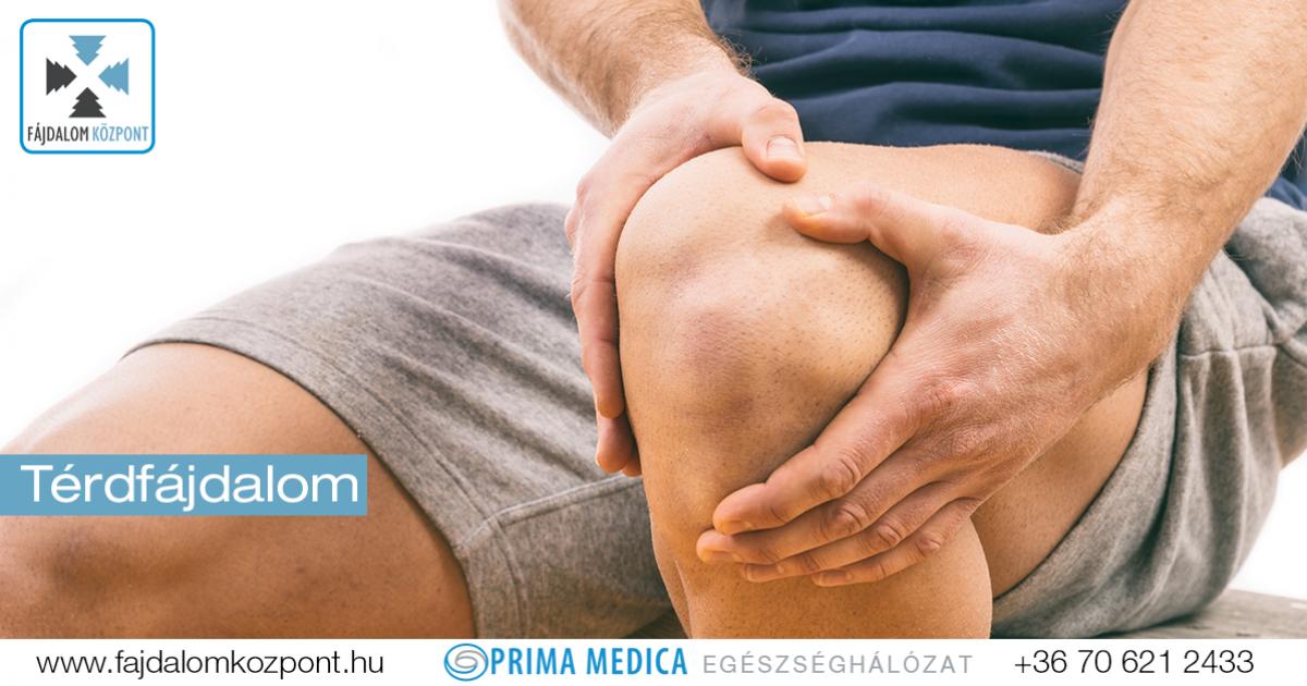 krónikus fájdalom és duzzanat a térdízületekben)