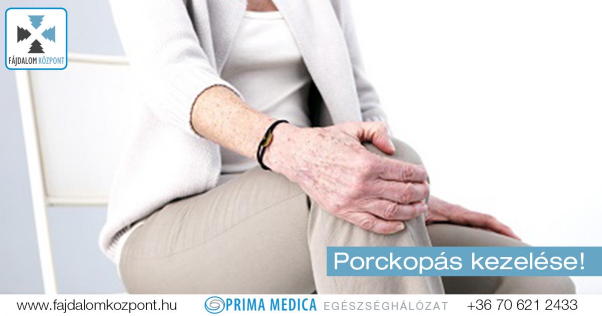 mérsékelt ízületi fájdalom deformáló artrózis térdkezelés