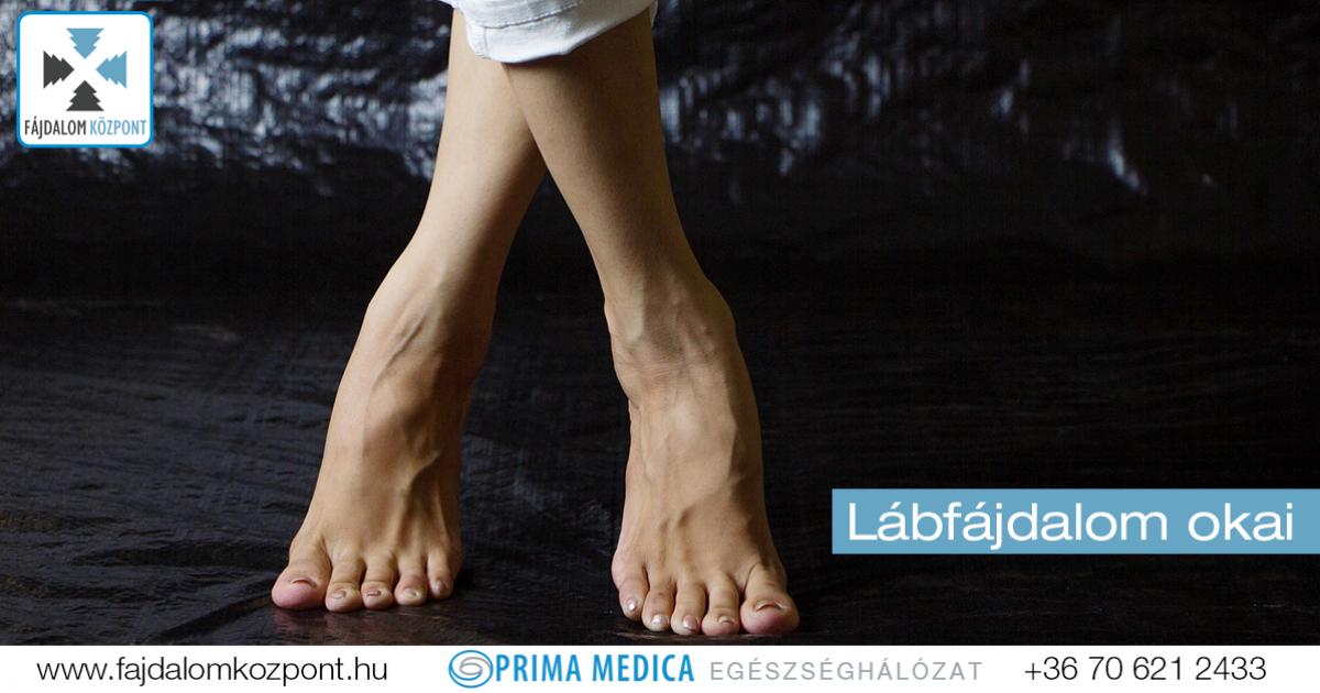 lábfájdalom a lábban)